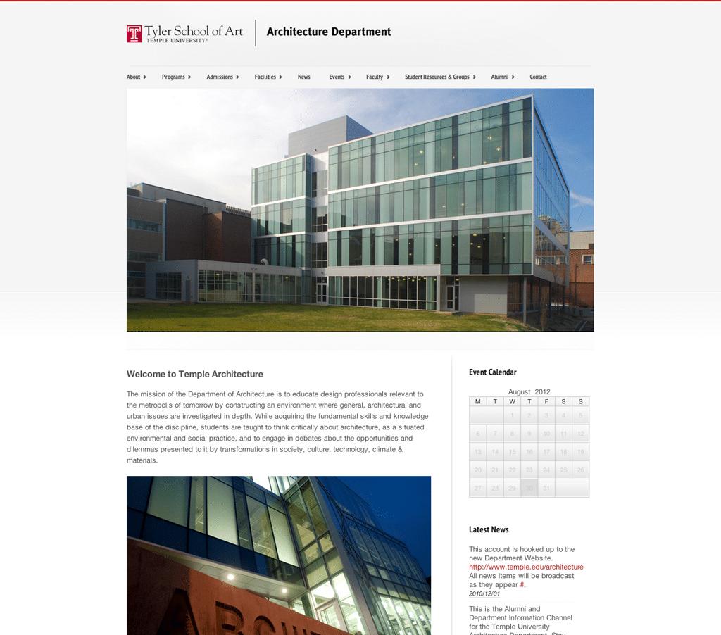 Temple University Architecture 21xde