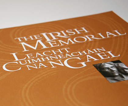 Commemorative Book: The Irish Memorial