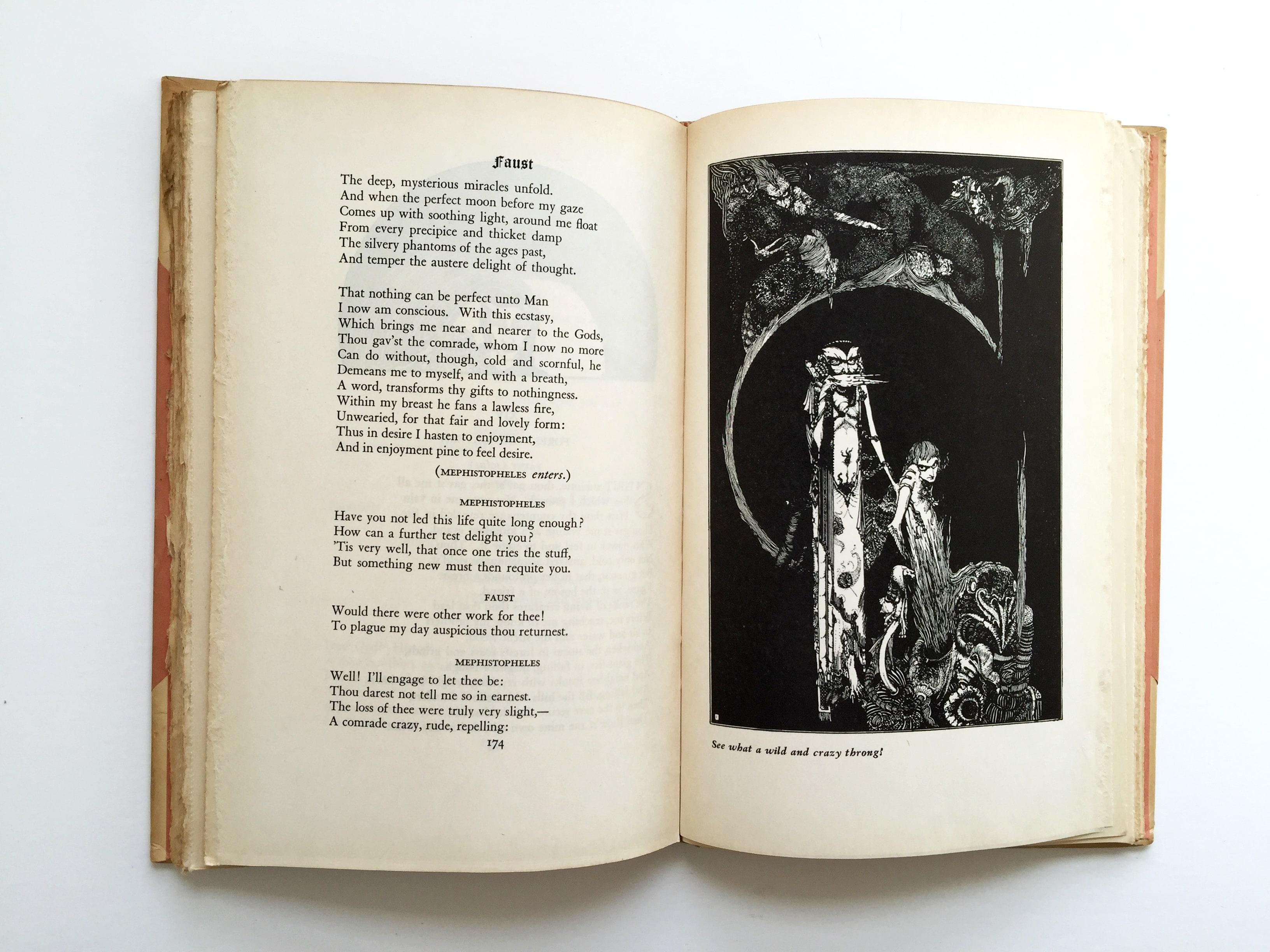 Faust by Johann Wolfgang von Goethe, Harry Clarke