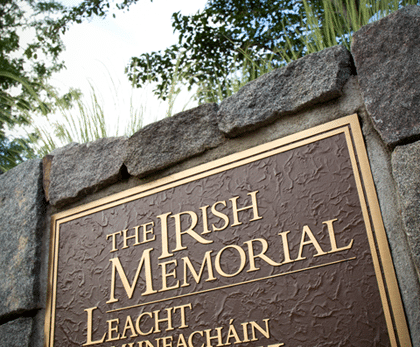 Exhibit: The Irish Memorial