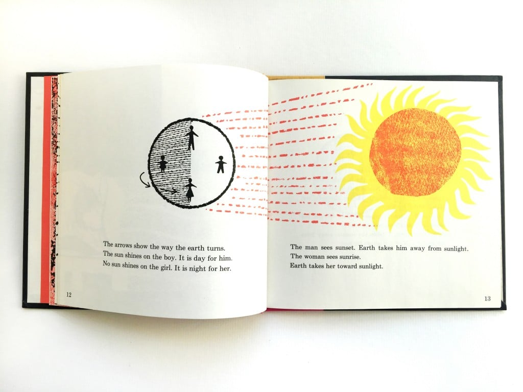 What Makes Day and Night by Franklyn M. Branley & Illustrated by Helen Borten