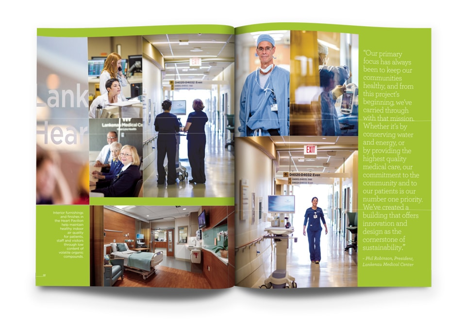 Magazine: Lankenau Leaders Heart Issue | 21xdesign